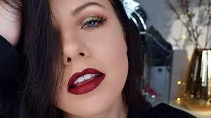 colourful festive makeup look