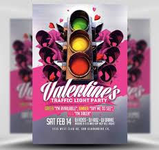 Valentines Flyers Valentines Traffic Light Flyer Template 2 Flyerheroes