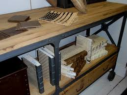 industrial metal and wood furniture. Industrial Reclaimed Wood And Metal Console | The Decor Lounge Furniture R