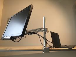 image of monitor desk mount arm