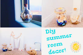 5 DIY HOME DECOR CRAFT IDEAS FOR THE SUMMER  PINTEREST INSPIRED Diy Summer Decorations For Home