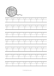 Letter W Tracing Worksheets Preschool Worksheets for all ...