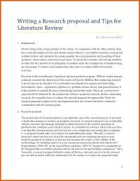 literature review example apa sample research proposal paper apa format research paper proposal