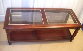 coffee tables glass and wood wood glass coffee table furniture for and ideas round glass coffee