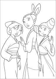 70 Disegni Di Mulan Da Stampare E Colorare Coloring Books