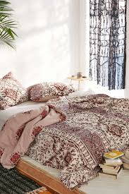 Magical Thinking Boho-Stripe Duvet Cover. Mauve BeddingUrban ...