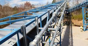 Coal Belt Conveyor Design Air Supported Belt Conveyors Bruks Siwertell