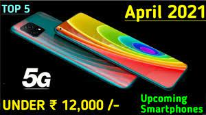 top 5 upcoming mobiles under 12000 in