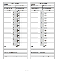 Time Card Sheets Free Printable Time Card Sheets Download Them Or Print