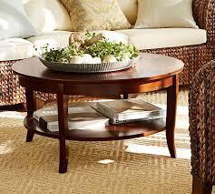 chloe round coffee table pottery barn regarding living room prepare 0