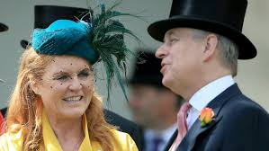 Prince andrew looked at ease today as he was pictured riding in windsor park with two grooms. Prince Andrew And Ex Wife Sarah Ferguson Reunite At Royal Ascot Fox News