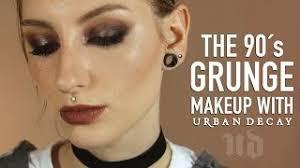 decades series 90s grunge makeup tut
