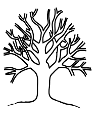 Small Picture adult tree without leaves template template of tree without leaves