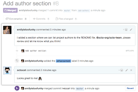 Commenting on a pull request - GitHub Help
