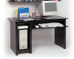 Small Black Computer Desk  Decofurnish With Small Computer Desks (View 10  of ...