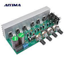 AIYIMA – panneau d'amplificateur Audio 5.1 canaux LM1875, caisson de  basses, système sonore, haut parleur, Home cinéma, 25W x 6, Super TDA2030