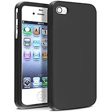 iphone 4. insten soft black silicone rubber case compatible with iphone 4 4s 4g 4gs g iphone