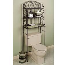 Decorative Bathroom Shelving Bathroom Inspiring Shelving Idea Over The Toilet For Small Space
