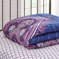 bed sets for teens purple. Unique Bed Mainstays Grace Medallion Purple Bed In A Bag Complete Bedding Set   Walmartcom In Sets For Teens R