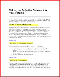 Opening Statement On Resume Examples Resume Opening Statement Apa Example 18