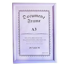 white certificate frame white label document frame 29 7x42cm jumia uganda