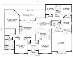 Ranch House Plans With Bedrooms Together Homes Zone