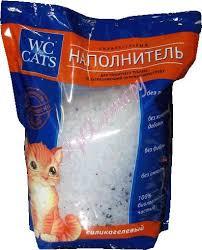 WC <b>for cats наполнитель</b> силикагель натуральный в интернет ...