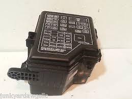 2003 hyundai santa fe fuse box block panel used 91288 26101 oem 2003 hyundai santa fe fuse box block panel used 91288 26101 oem 047 91288