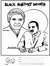 Black History Month Coloring Page | Coloring Pages | Pinterest ...