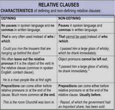 Restrictive relative clauses give information that defines the noun—information that's necessary for complete. 5 Defining And Non Defining Relative Clauses