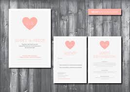 wedding invitations with hearts wedding invitation suite digital printable file heart wedding