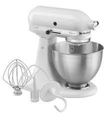 Designer Kitchen Aid Mixers Classic Series 45 Quart Tilt Head Stand Mixer K45sswh White