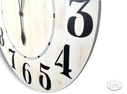36 wall clock inch oversized farmhouse wall clock rustic 36 wall clock canada 36 wall clock
