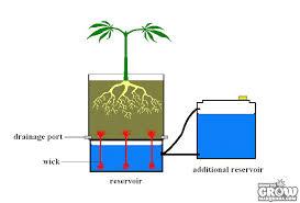 wick grow systems hydroponic wick system