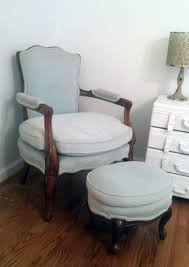 unusual bedroom chair and ottoman glider with small
