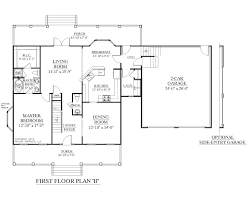 plans two house plans plan story with only upstairs master bedroom small first floor upstair