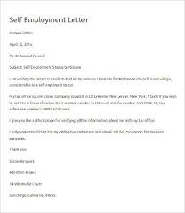 Certificate Of Self Employment Sample Copy Resume Verification