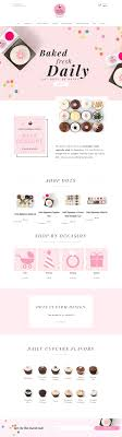 Pink Website Design Showcase Of 10 Beautiful Cupcake Website Design