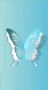 Butterfly Cutouts Template Add A Caption On We Heart It Bugs Paper Cutting Paper Paper