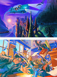 harry potter art by mary grandpre