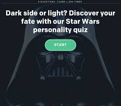 Dark Side Or Light Side Star Wars Quiz Jedi Sith Gungan Discover Your Allegiance With Our Star