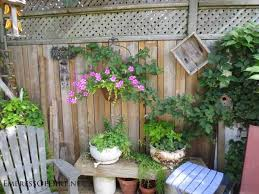 Collection in Backyard Fence Decorating Ideas 25 Creative Ideas For Garden  Fences Empress Of Dirt