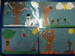 Seasons Chart Kindergarten Seasons Chart For Preschool Classroom Preschool Classroom