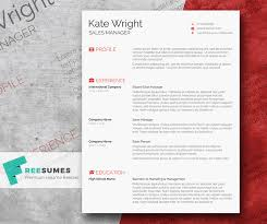 Cool Resumes Templates Best Smart Freebie Word Resume Template The Minimalist Freesumes