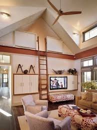 loft ladders for sale. inspiration for a contemporary living room remodel in boston with beige walls and media wall loft ladders sale ,