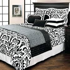 black damask bedding black and white damask bedding comforter the advantages of o black damask bedding