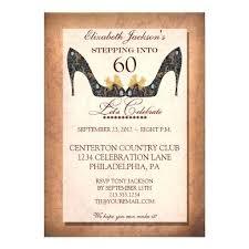 60th Birthday Invite Elegant Black Birthday Party Invitations