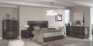 Modern Italian Bedroom Set Sarah Modern Grey Italian Bedroom Set By At Home Usa Free Shipping