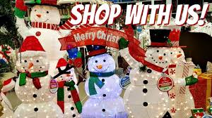 shop with me at home store christmas inflatables decorations 2017
