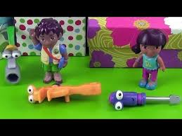 Go Diego Go and Alicia with Handy Manny Tools Squeeze, Rusty and ...